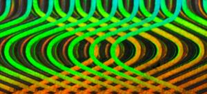 Label Diffraction Foil Light