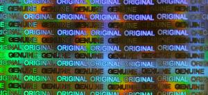 Label Diffraction Foil Original